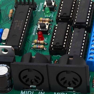 Midi decoder boards