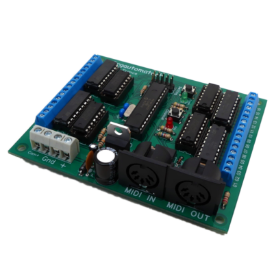 Midi2Org 32 decoder board