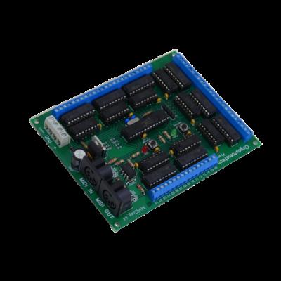 Midi2org_64 decoder baord