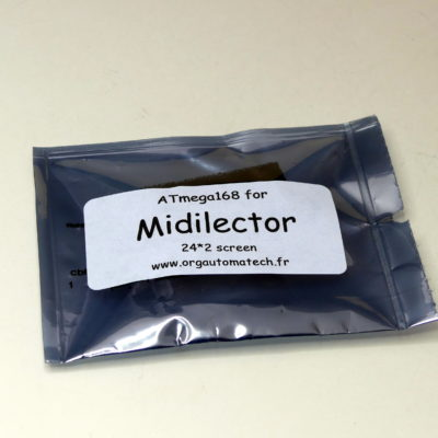 Midilector chip packed